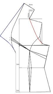Este molde que ve en el tutorial puede usarlo para hacer un saco, una chaqueta o una blusa. Con corte princesa y cuello enterizo explicado paso a paso.