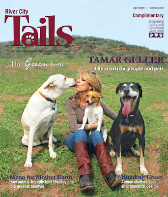 Little Friends Photo Tails Magazine April 2009 Tamar border=