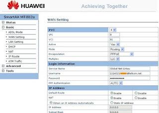Huawei Hilink Mikrotik Router