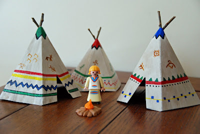 That Artist Woman How To Make Mini Teepees Tipi