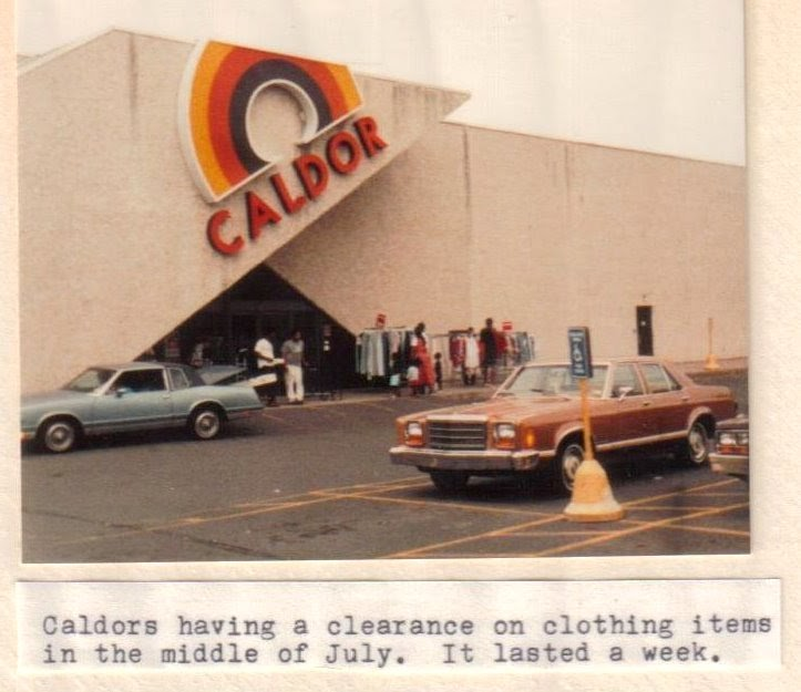The Caldor Rainbow: Caldor; New Britain: Summer 1990
