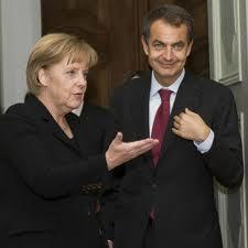 ¡Que viene la Merkel!