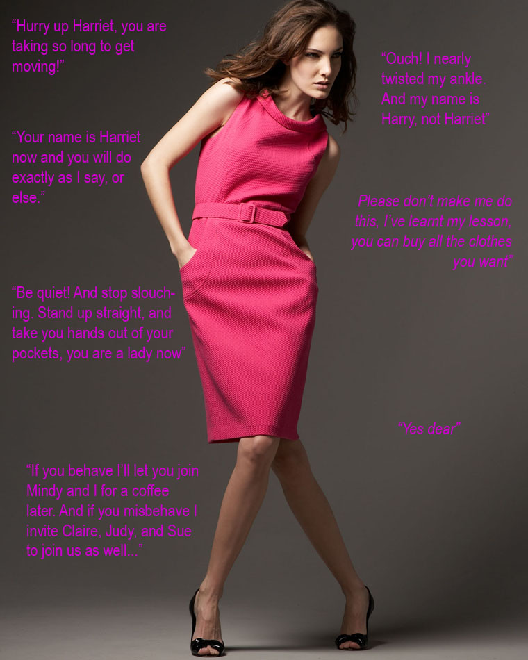 Titillating TG Captions: Forced Feminization To Make A