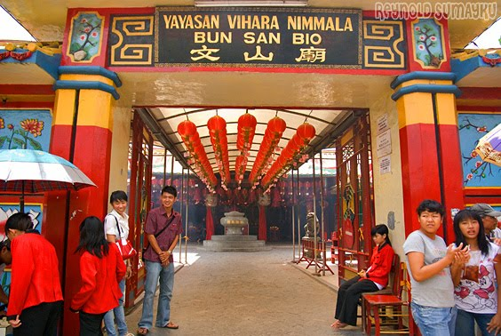 Vihara Nimmala di Tangerang Pasar Baru (Boen San Bio)
