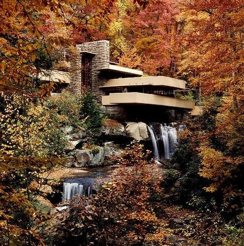 721e5eeca Posted by Unknown | Posted in Architecture: Frank Lloyd Wright -  Fallingwater House - 3 videos - Complete data - Wright-house.com - AD  Classics | Posted on ...
