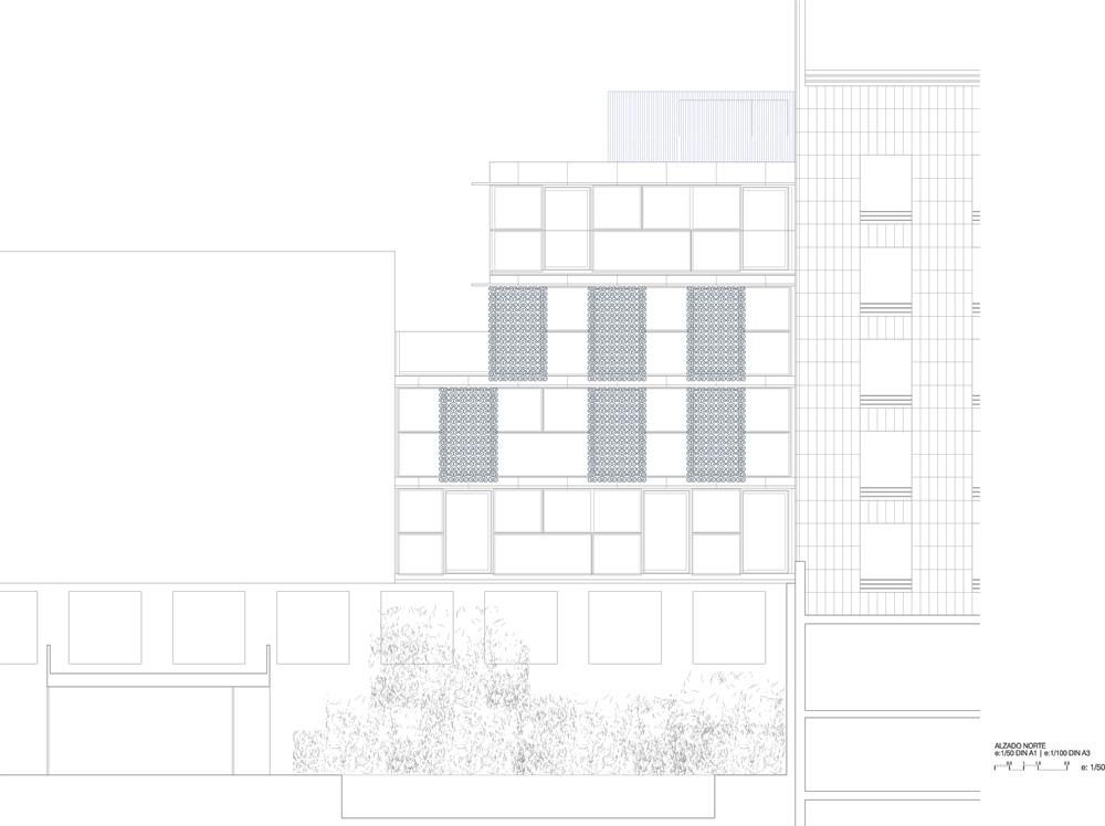 ALBERTA NORWEG: Orfila Housing, Store & Garage / Abalos