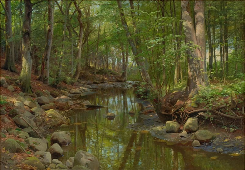 Art And Influence Peder Monsted