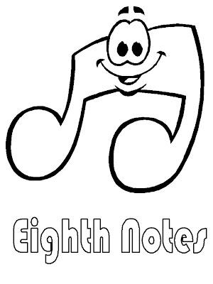 Desenhos De Notas Musicais Grandes