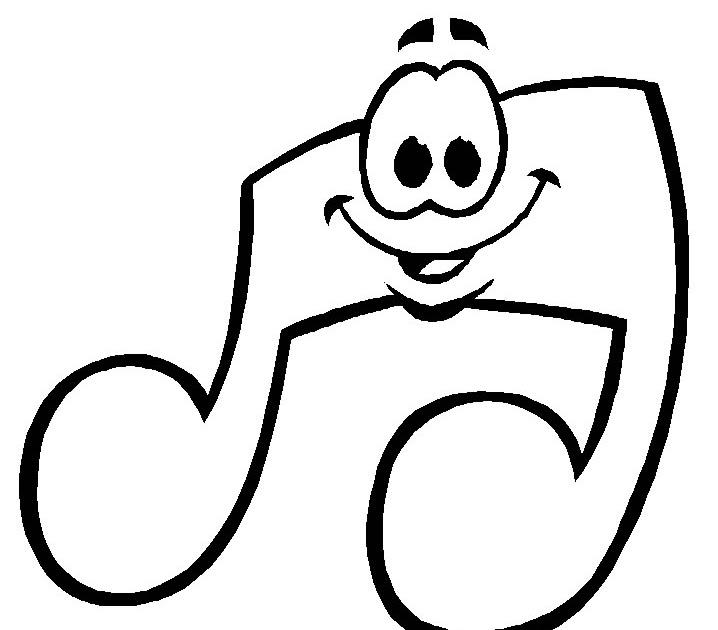 Desenho De Nota Musical, Desenhos De Instrumentos Musicais