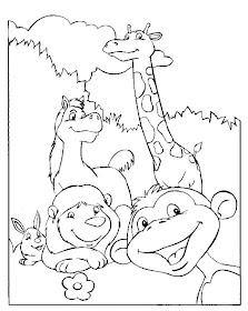 Print Desenhos Desenho De Animais Diversos Para Colorir Desenho