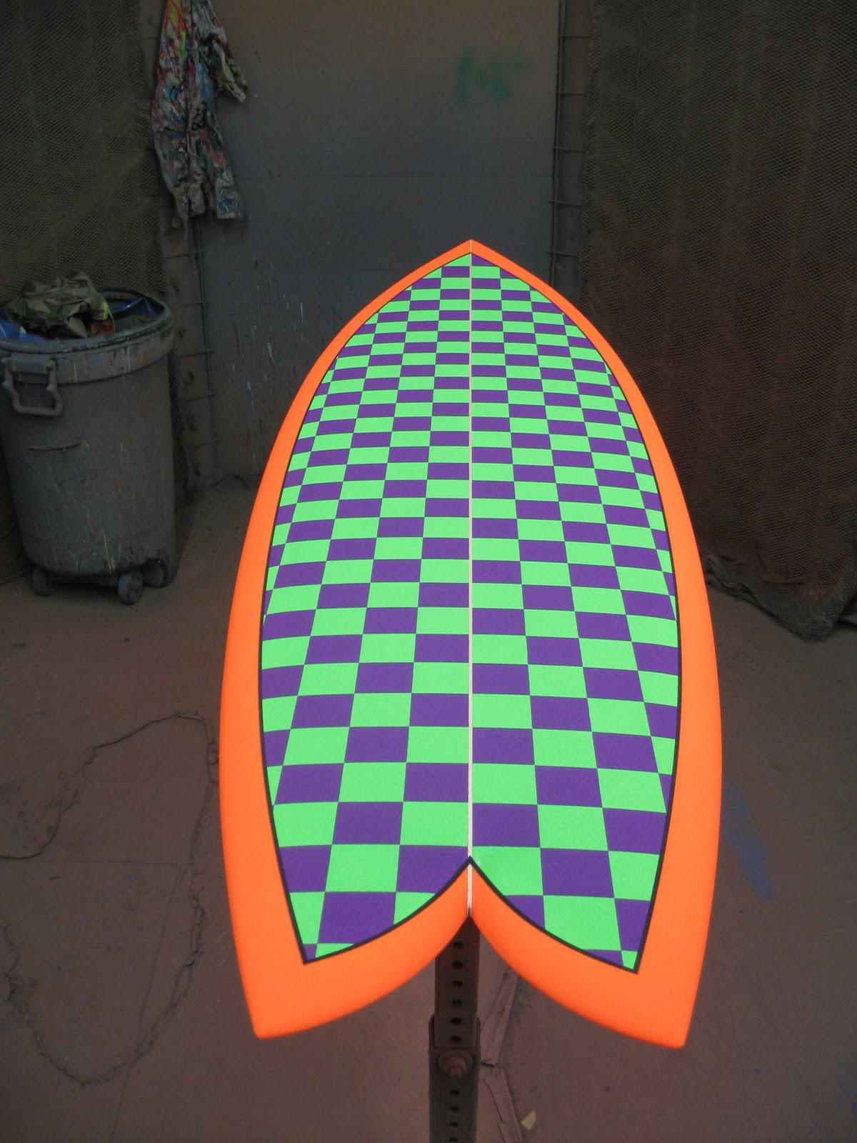 Larry Miller Vw >> surfboards love color: custom checkers