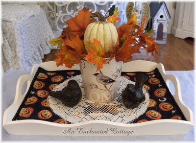 An Enchanged Cottage - Autumn Home Giveaway