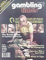 Gambling Times, October 1979 issue