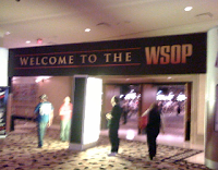 Welcome to the WSOP