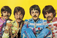 The Beatles as Sgt. Pepper