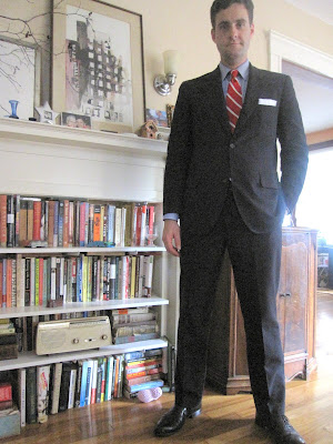 34dcff9c4730 I wore this outfit to an open interview (read  begging) session for a the  position of beverage director (read  guy in charge of the booze) at a local  luxury ...