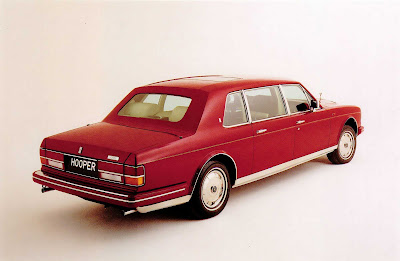rolls royce Emperor State Limousine by Hooper