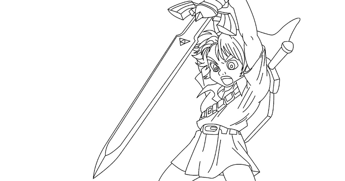 Midna coloring pages sketch coloring page for Midna coloring pages