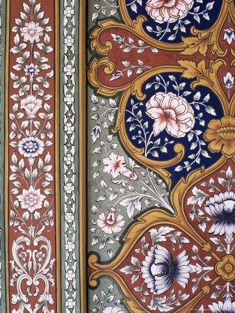 artnlight: Wall art in Indian Palaces.
