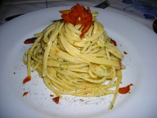 Pasta Con La Bottarga E Wasabi Recipe — Dishmaps