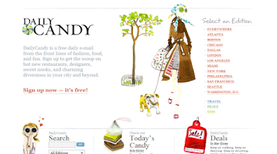 DailyCandy - The Latest Fashion Designers, Weekend Events & Products
