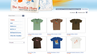 Mozilla Store International