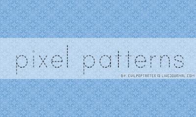 Pixel Patterns by vampyregoddess