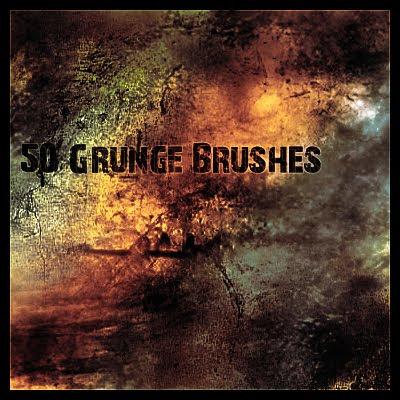 50 Grunge brushes
