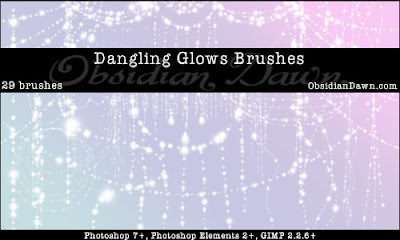 Dangling Glows Brushes