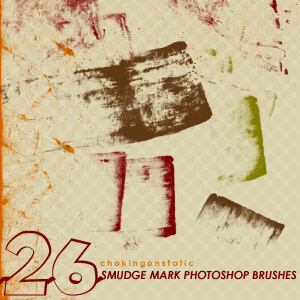 smudge mark brushes