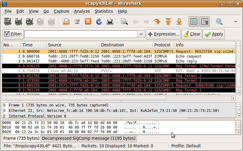 Packetstan: Using Scapy to Select a Range of pcap Records