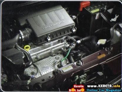 Perodua Alza Engine Bay - Surasmi Y