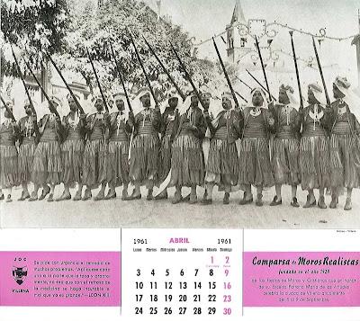 Calendario Del 1961.El Eslabon Villena Un Curioso Calendario Para 1961