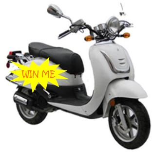 win a scooter