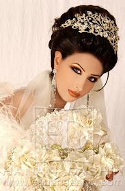 Updo Arabic Wedding Hairstyles