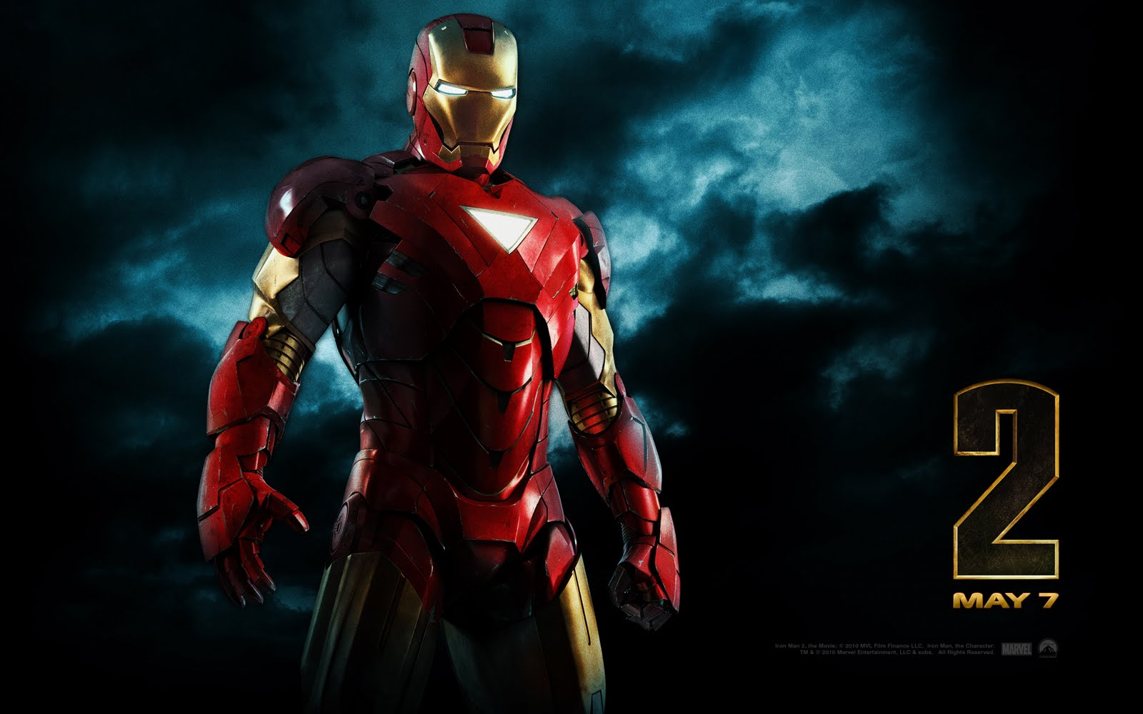 Iron Man 2 Movie Wallpaper : Teaser Trailer