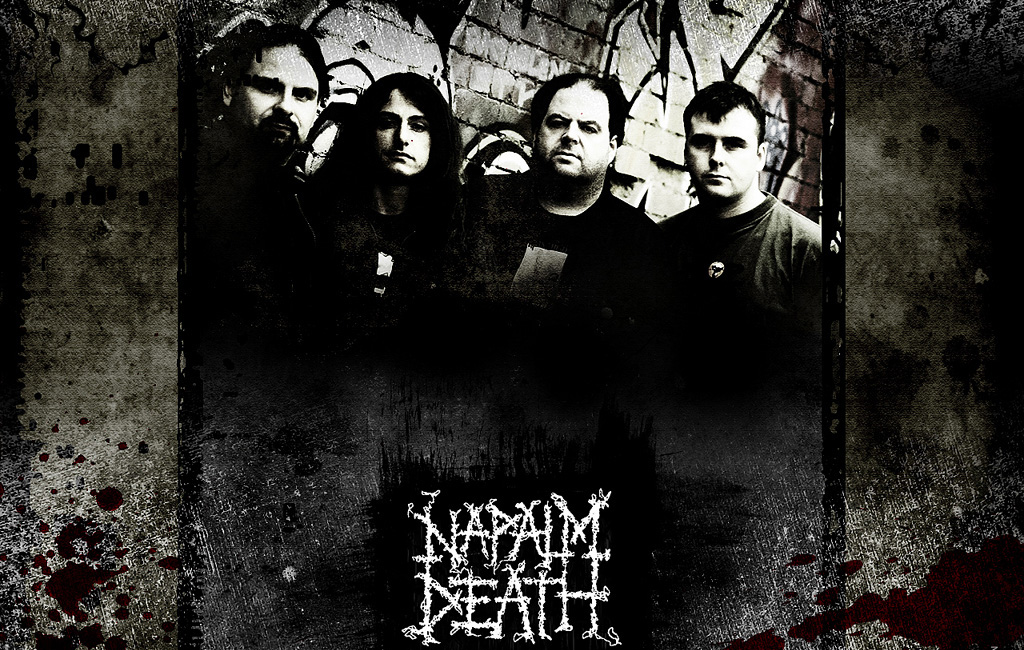 Various Metal Band Napalm Death