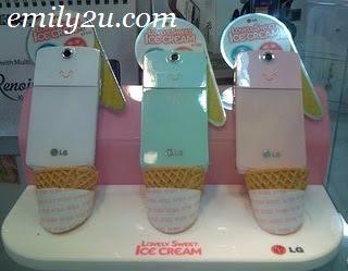 LG Ice Cream KF350
