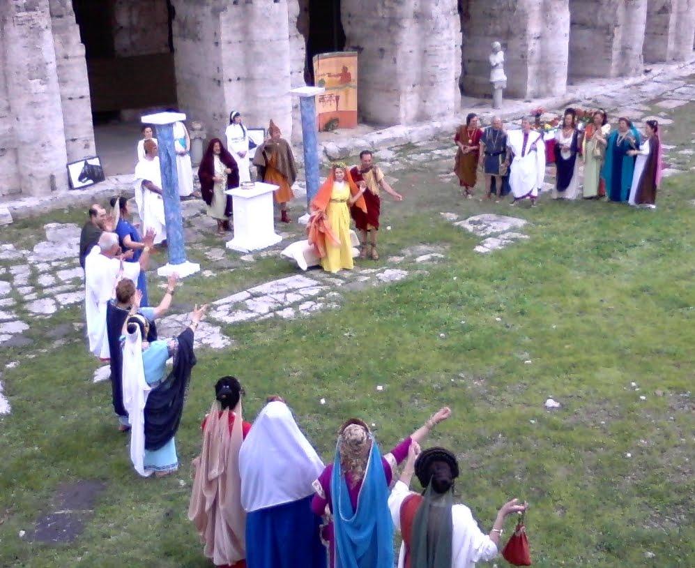 Matrimonio Romano Confarreatio : La confarreatio by fem s world