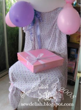 birthday party chair make