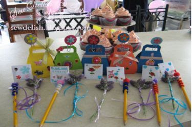 birthday party craft creations make