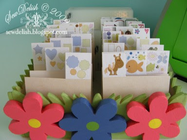 Provo Craft Cuttlebug Die and Embossing Folder Sizzix Sizzlits Storage Organise Dividers Sort