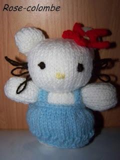 Du tricot et des jouets mod le hello kitty 10 cm - Modele hello kitty ...