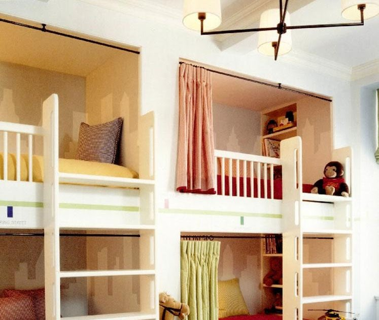 Buy Built in bunk bed ideas | Plans Woodworking Project