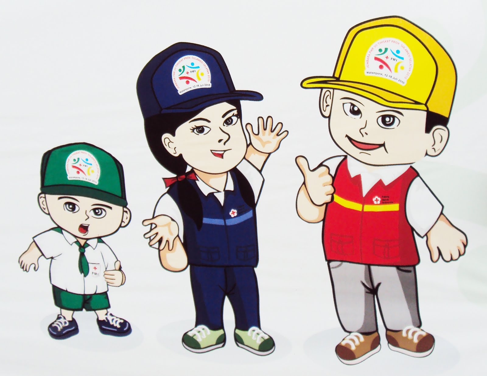 Gambar Kartun Anak Sekolah Smp