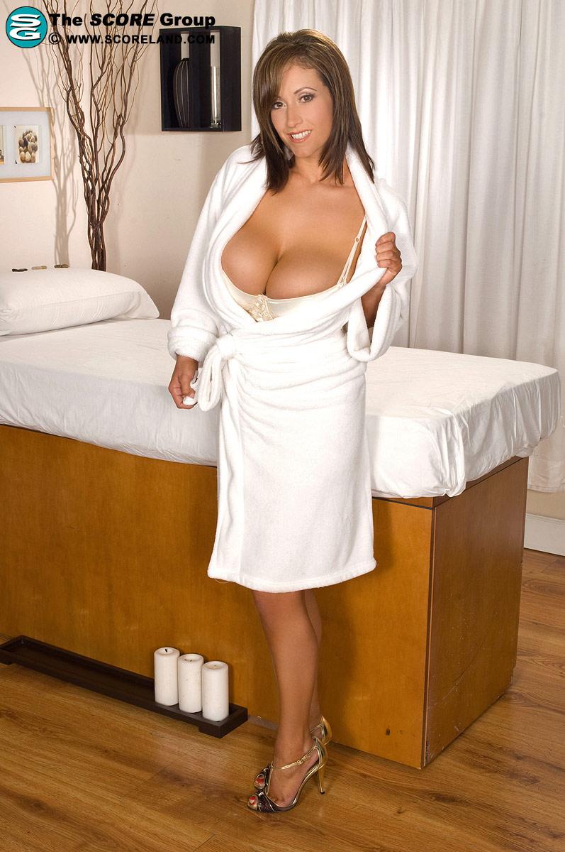 Legs secretary spreading her