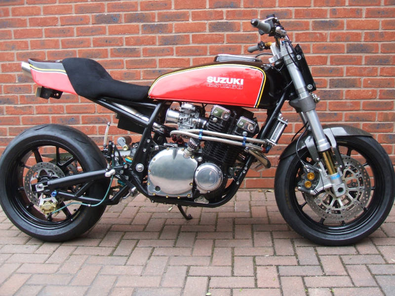 cal_look_zero's 79 gs850 streetfighter project - 600rr
