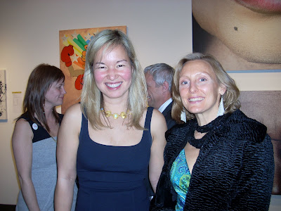 Philippa Hughes and Alida Anderson