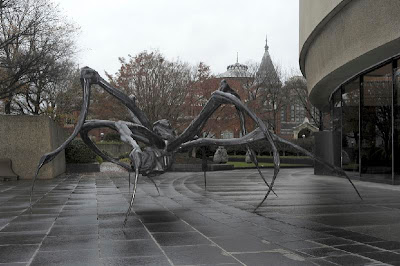 Louise Bourgeois Crouching Spider, 2003, from a private collection. Photo by Lee Stalsworth.