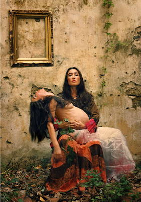 Tanya Gramatikova, Tribute to Frida Kahlo II
